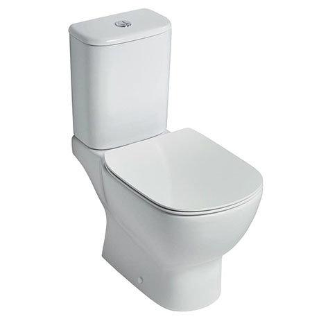 Ideal Standard Tesi AquaBlade Close Coupled WC + Seat