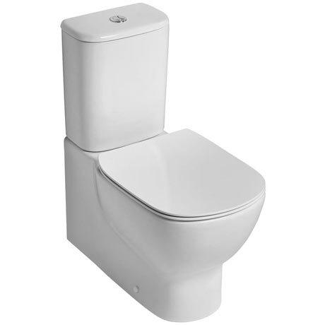 Ideal Standard Tesi AquaBlade Close Coupled Back to Wall Toilet