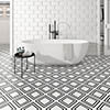 Tetra Grid Wall and Floor Tiles - 200 x 200mm Small Image