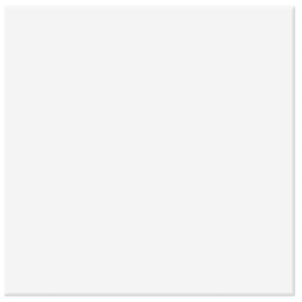 Tetra Matt White Wall and Floor Tiles - 200 x 200mm
