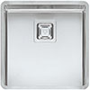 Reginox Texas 40x40 1.0 Bowl Stainless Steel Kitchen Sink profile small image view 1