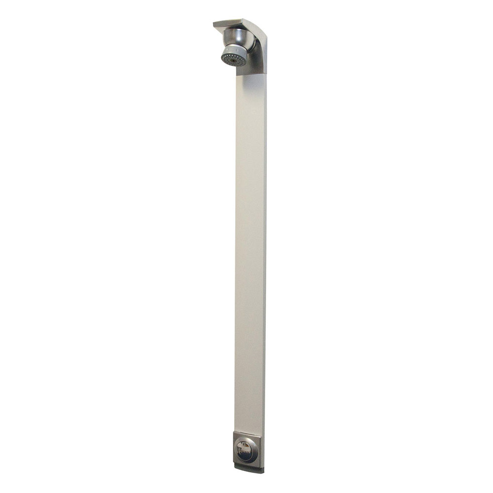 Bristan - Push Button Timed Flow Shower Panel with Adjustable Head - TFP4001