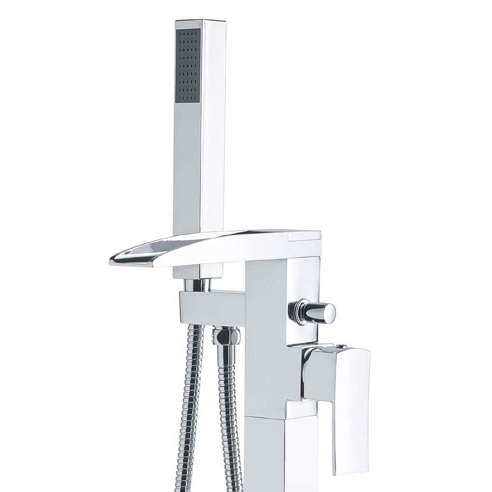 Hudson Reed Art Freestanding Bath Shower Mixer - TFR394  Profile Large Image