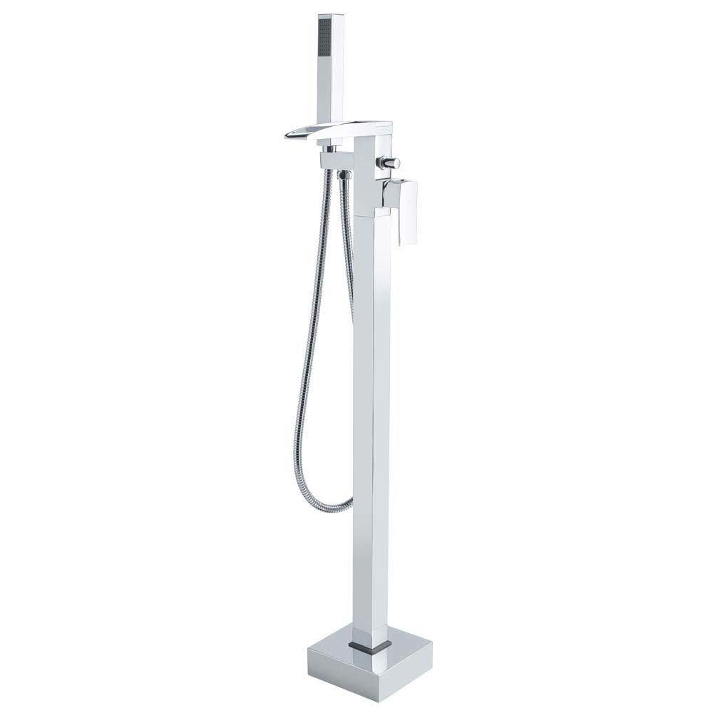 Hudson Reed Art Freestanding Bath Shower Mixer - TFR394 Large Image