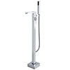 Hudson Reed Art Freestanding Bath Shower Mixer - TFR394 profile small image view 1