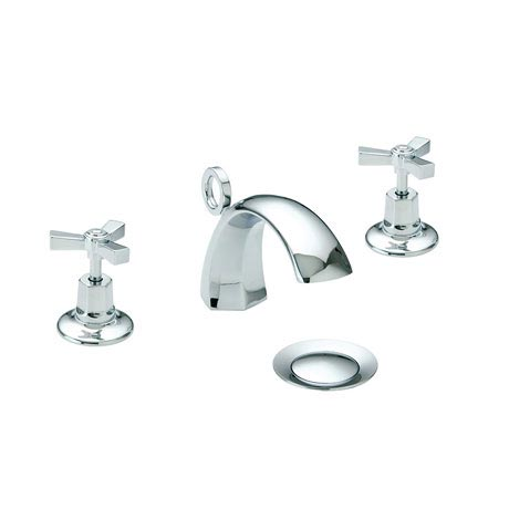 Heritage - Gracechurch 3 Hole Basin Mixer with Pop-up Waste - TGRDC06