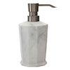 Trafalgar Grey Marble Effect Polyresin Lotion/Soap Dispenser profile small image view 1
