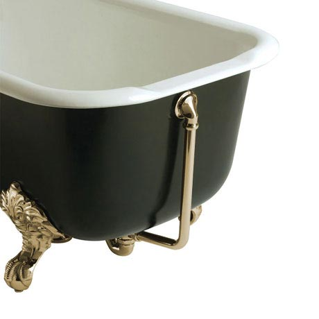 Heritage - Exposed Bath Waste & Overflow - Vintage Gold - THA16