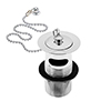 Heritage - Slotted Basin Waste - Chrome - THC10 profile small image view 1