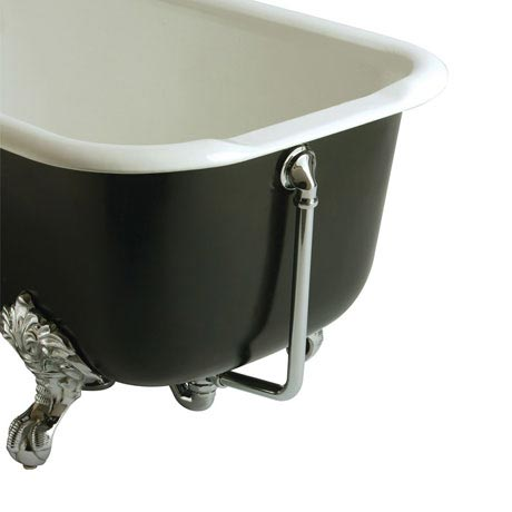 Heritage - Exposed Bath Waste & Overflow - Chrome - THC16