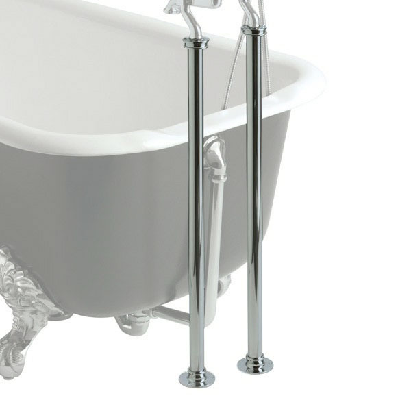 Heritage - Freestanding Standpipes - Chrome - THC20 profile large image view 1