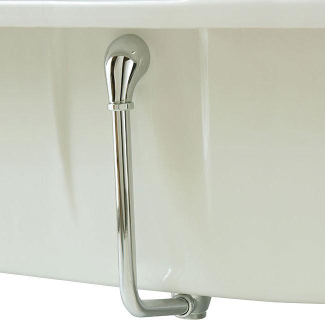 Heritage - Exposed Push-Button Bath Waste - Chrome - THC21 Large Image