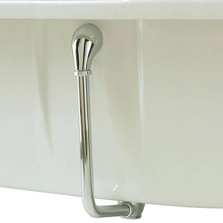 Heritage - Exposed Push-Button Bath Waste - Chrome - THC21