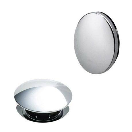 Heritage - Push Button Bath Waste - Chrome - THC22