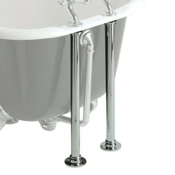 Heritage - Bath Pipe Shrouds - Chrome - THC30 Large Image
