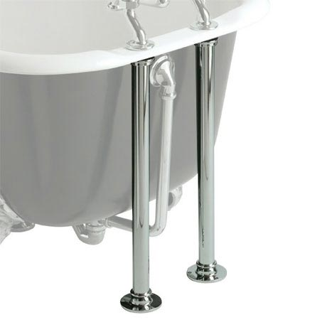 Heritage - Bath Pipe Shrouds - Chrome - THC30