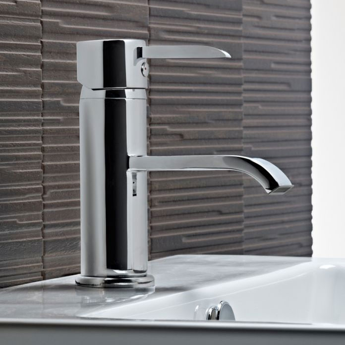 Tavistock Hype Basin Mixer with Click Waste - THP11 profile large image view 2