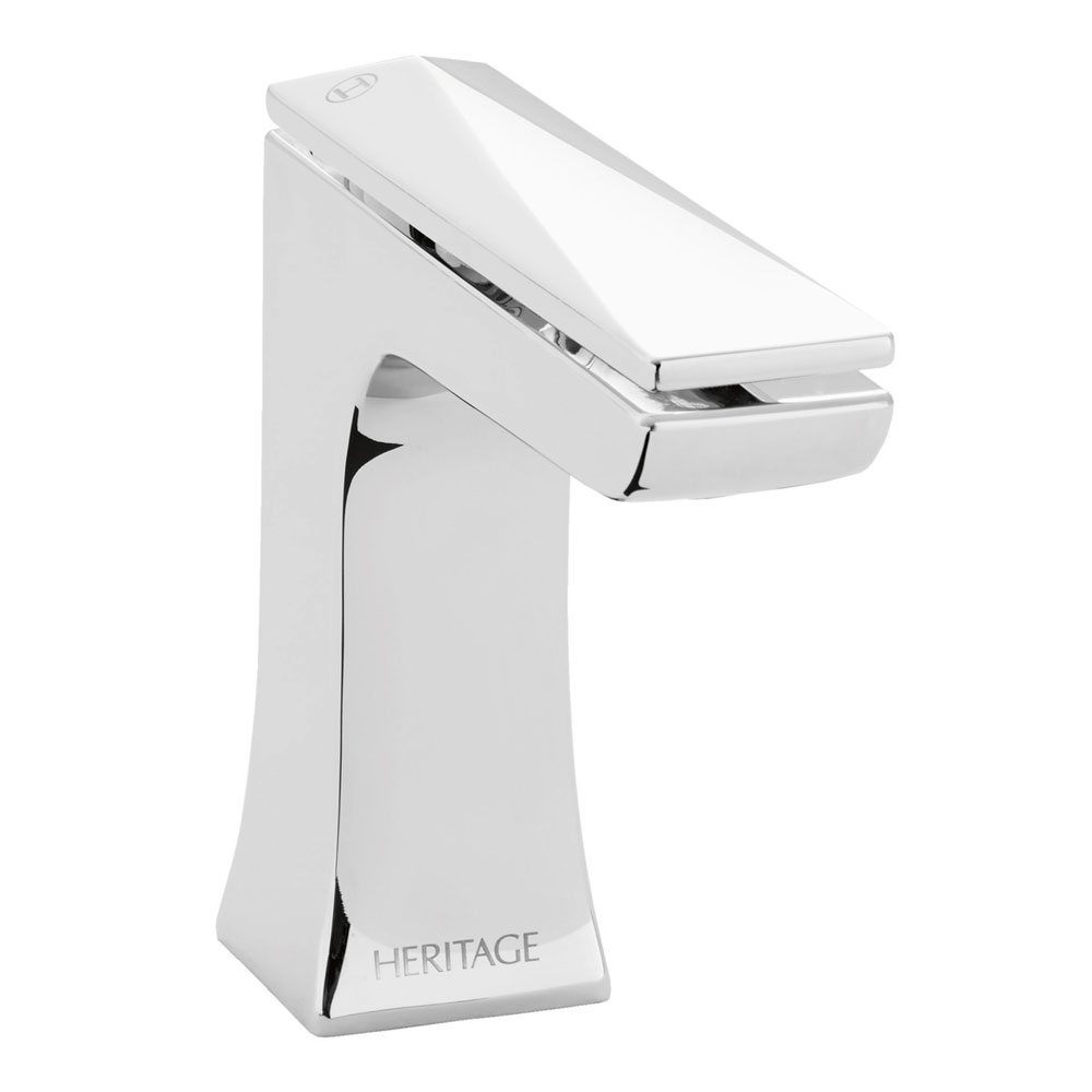 Heritage - Hemsby Mono Basin Mixer with Clicker Waste - THPC04 Large Image