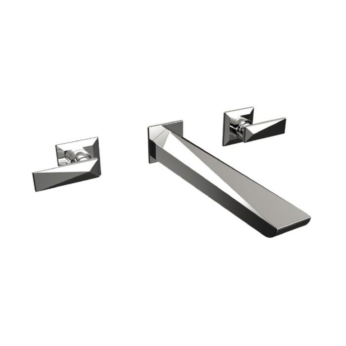 Heritage - Hemsby 3 Hole Wall Mounted Bath Filler - THPC11 Large Image