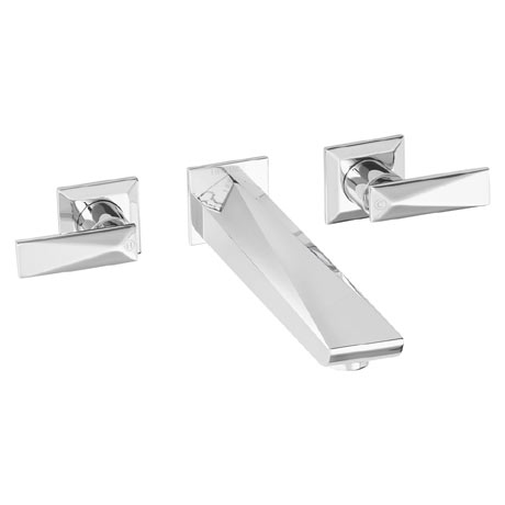 Heritage - Hemsby 3 Hole Wall Mounted Bath Filler - THPC11