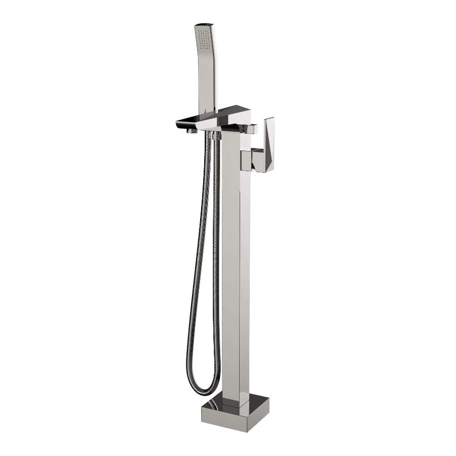 Heritage - Hemsby Floor Standing Bath Shower Mixer - THPC171 profile large image view 1