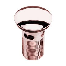 Heritage Slotted Clicker Basin Waste - Rose Gold - THRG12 Medium Image