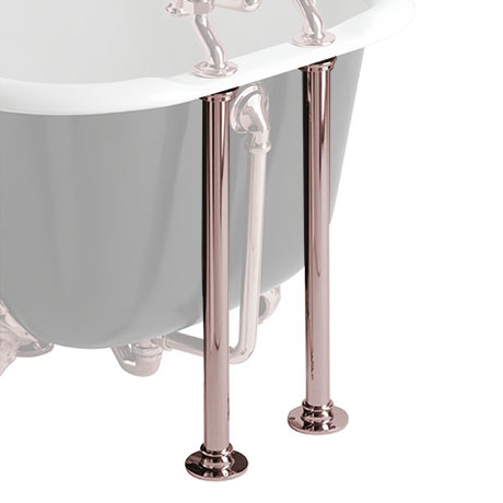 Heritage Bath Pipe Shrouds - Rose Gold - THRG30