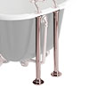 Heritage Bath Pipe Shrouds - Rose Gold - THRG30 profile small image view 1