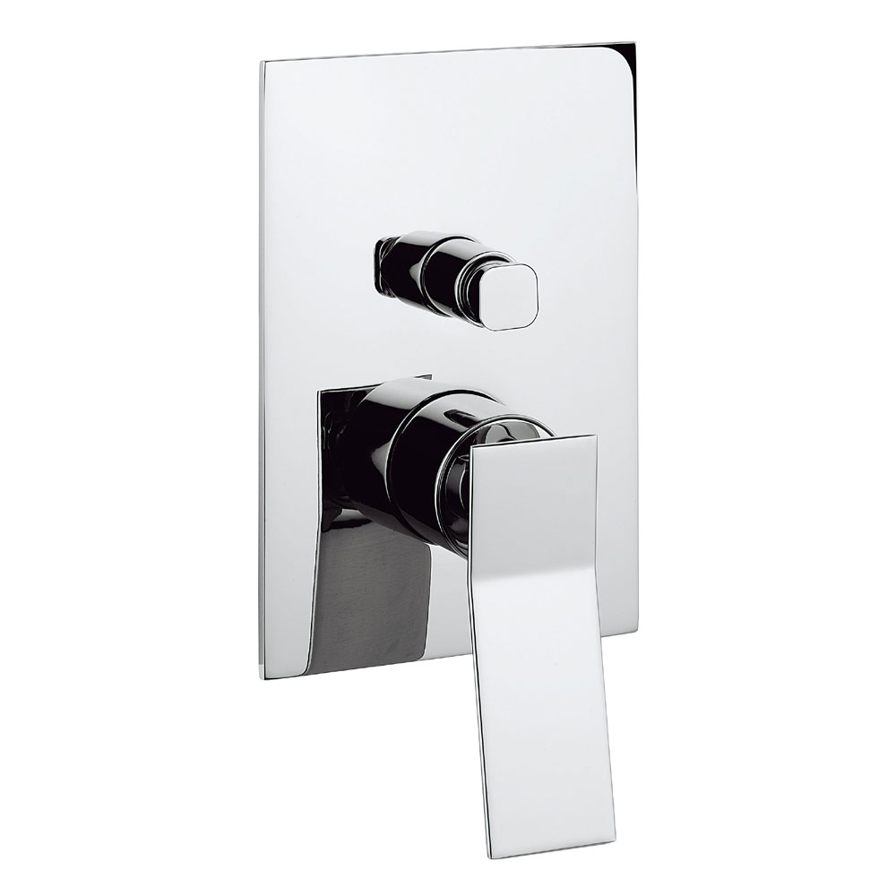 Crosswater - Trio Concealed Manual Shower Valve with Diverter - TI0005RC Large Image