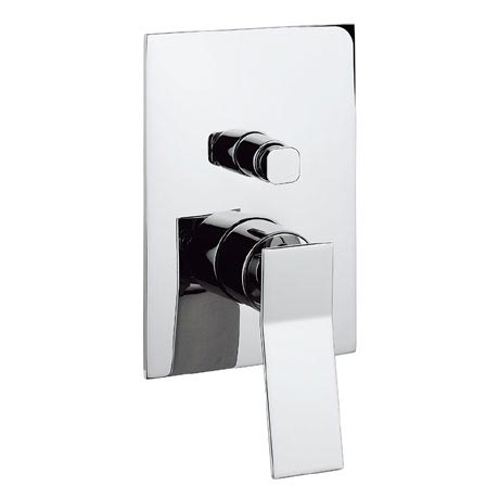 Crosswater - Trio Concealed Manual Shower Valve with Diverter - TI0005RC