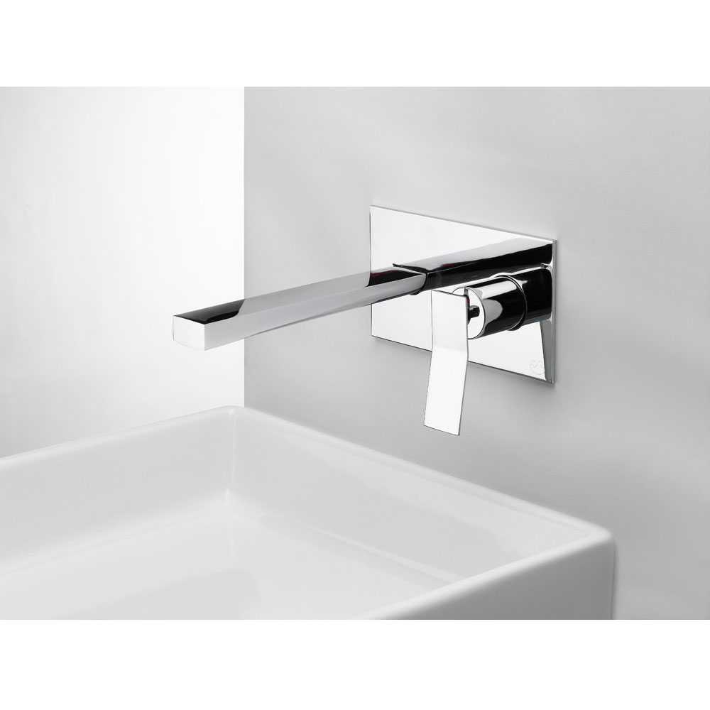 Crosswater - Trio Wall Mounted 2 Hole Set Basin Mixer - TI121WNC profile large image view 2