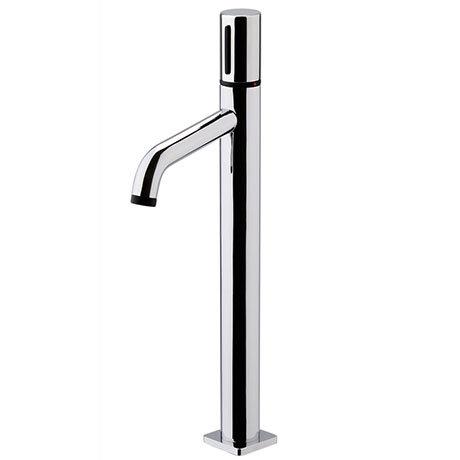 Venice Modern Round Tall Basin Mixer Tap - Chrome