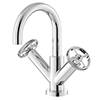 Hudson Reed Revolution Industrial Mono Basin Mixer with Waste - TIW315 profile small image view 1