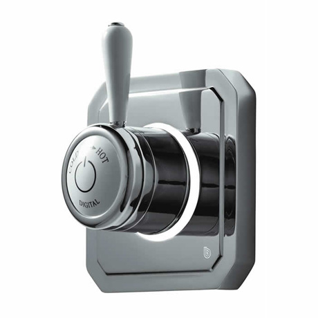 Bathroom Brands Classic 1910 Single Outlet Digital Shower Valve