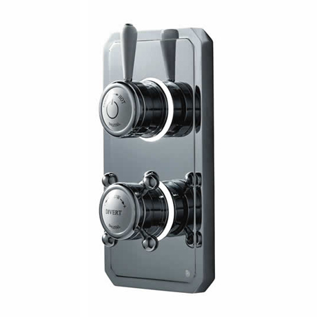 Bathroom Brands Classic 1910 Dual Outlet Digital Shower Valve (Shower/Shower)