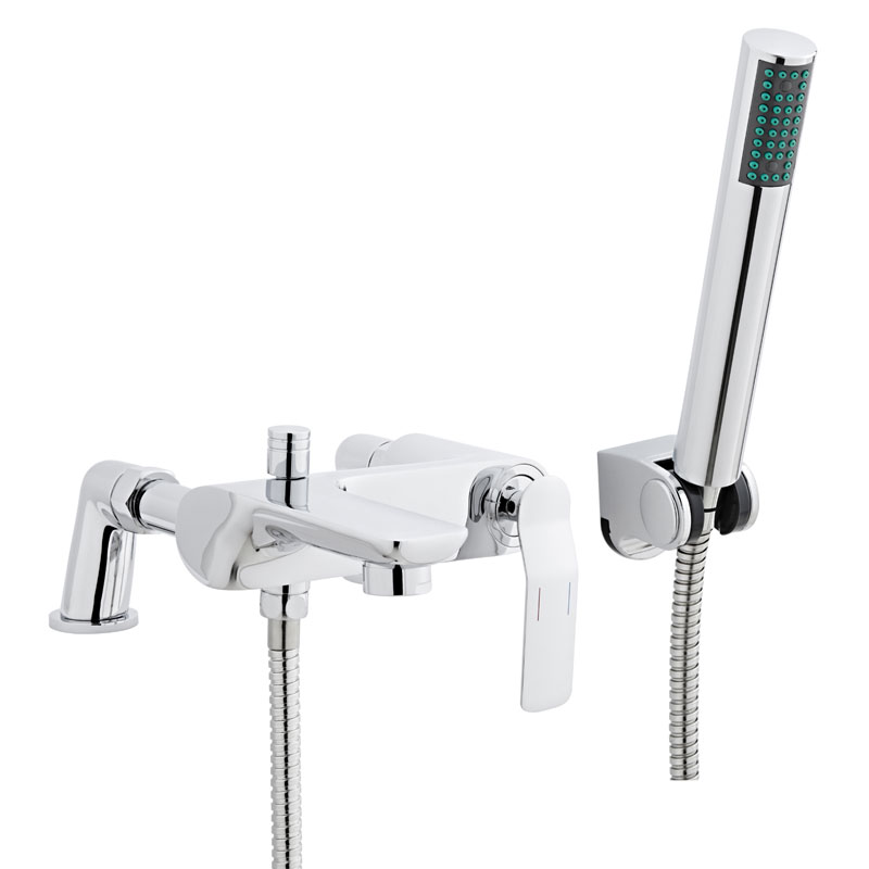 Ultra - Alaric Bath Shower Mixer - Chrome - TLC304 Large Image