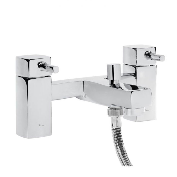 Tavistock Logic Bath Shower Mixer & Kit - TLG42 Large Image