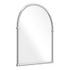 Chatsworth Traditional 673 x 490mm Arched Mirror - Chrome Small Image