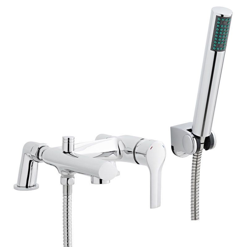 Ultra - Imogen Bath Shower Mixer - Chrome - TMG304 profile large image view 1
