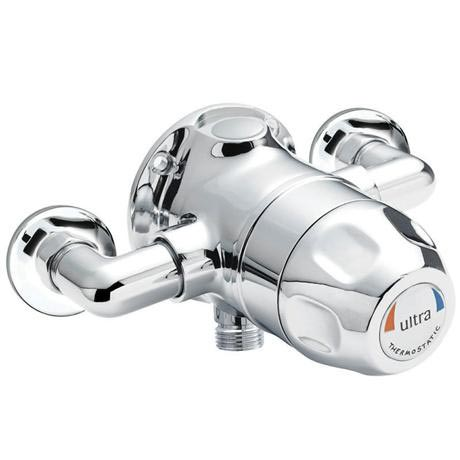 Ultra TMV3 Exposed Sequential Thermostatic Shower Valve - Handwheel Control - TMVSQ1
