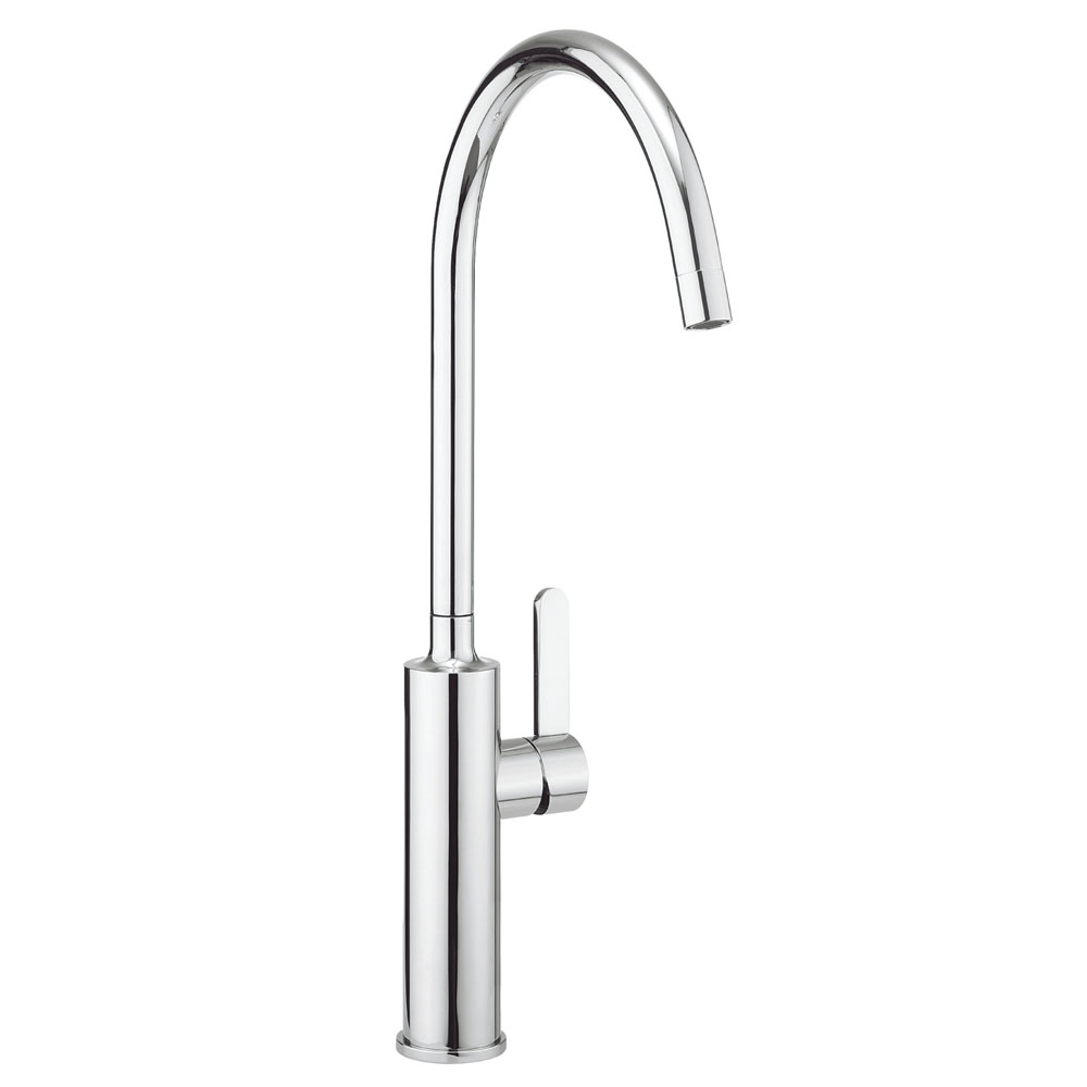 Crosswater - Cucina Tone Side Lever Kitchen Mixer - Chrome - TN714DC Large Image