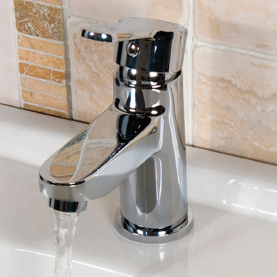 Ultra Newbury Mono Basin Mixer Tap Inc. Waste - TNB305 Profile Large Image
