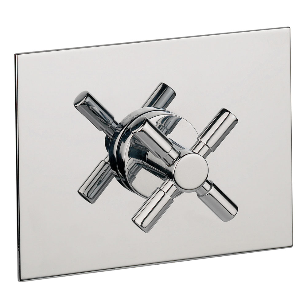 Crosswater - Totti Concealed Shut-Off Valve - TO0001RC profile large image view 1