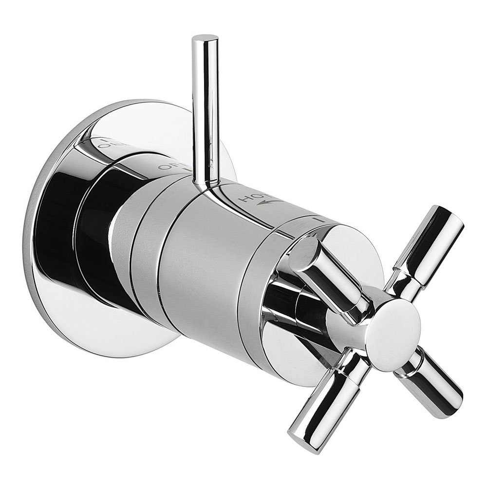 Crosswater - Totti Mini Thermostatic Shower Valve - TO0010RC Large Image