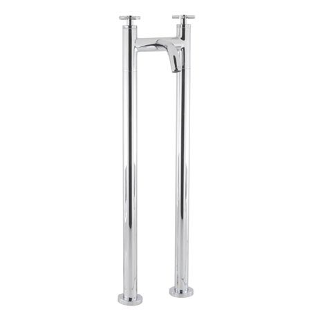 Crosswater - Totti Floor Mounted Freestanding Bath Filler - TO322DC-AA002FC