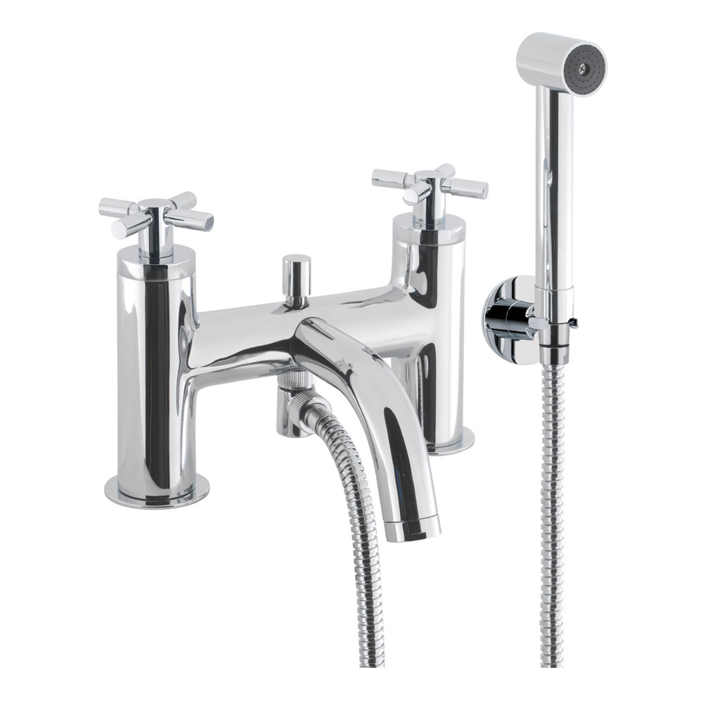 Crosswater - Totti Bath Shower Mixer with Kit - TO422DC Large Image
