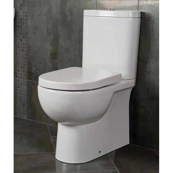 RAK - Tonique Close Coupled BTW Toilet inc Soft Close Seat profile large image view 2