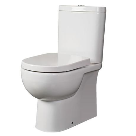 RAK - Tonique Close Coupled BTW Toilet inc Soft Close Seat