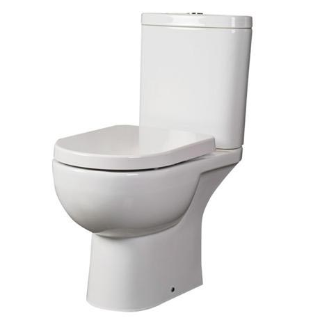RAK Tonique Close Coupled Full Access Toilet with Soft Close Seat