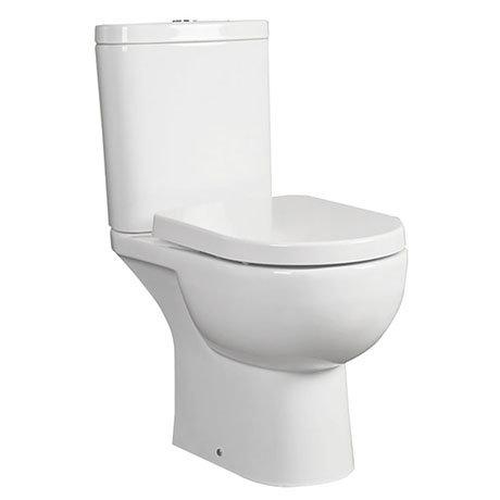RAK Tonique Close Coupled Full Access Toilet (No Seat)